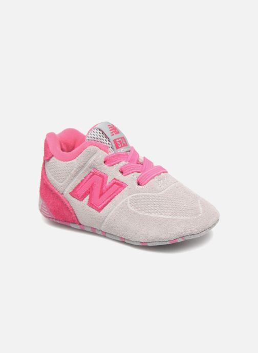 Baskets New Balance KL574 M Rose vue détail/paire