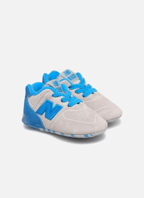 Baskets New Balance KL574 M Gris vue 3/4