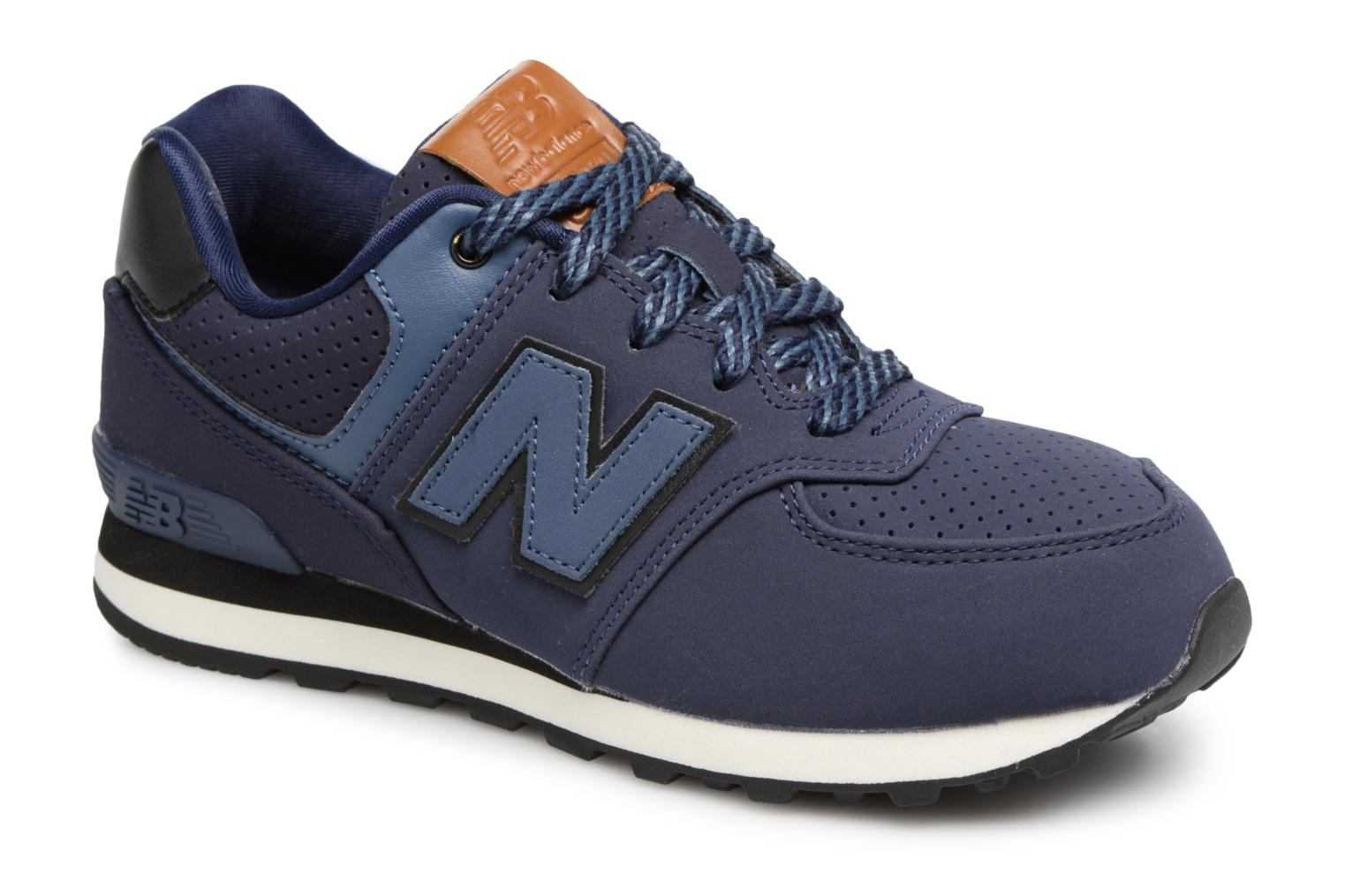 Sneakers New Balance KL574 M Blauw detail
