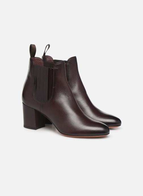 Boots en enkellaarsjes Santoni Venus 55880 Paars 3/4'