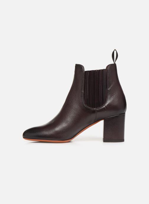 Boots en enkellaarsjes Santoni Venus 55880 Paars voorkant