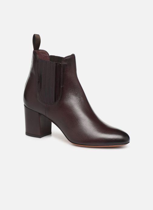 Bottines et boots Santoni Venus 55880 Violet vue détail/paire