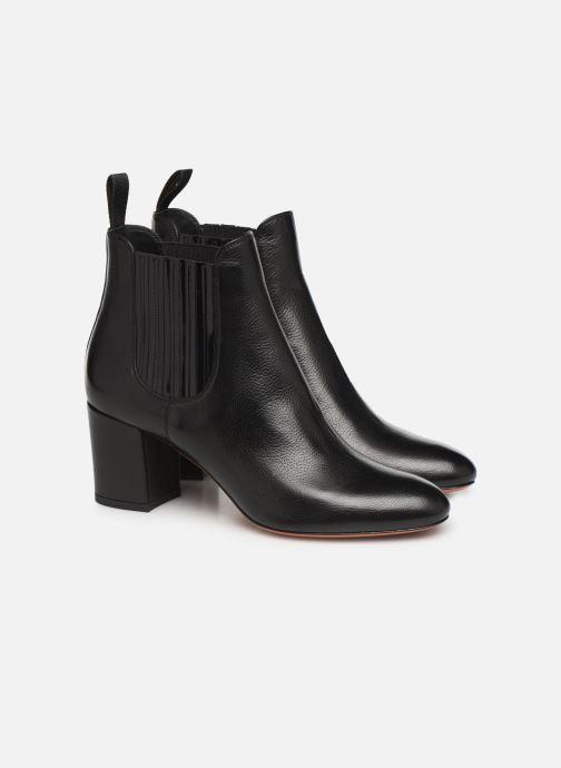 Bottines et boots Santoni Venus 55880 Noir vue 3/4