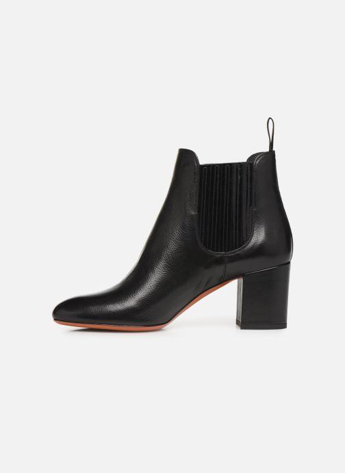 Bottines et boots Santoni Venus 55880 Noir vue face