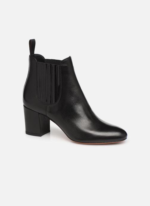 Bottines et boots Santoni Venus 55880 Noir vue détail/paire