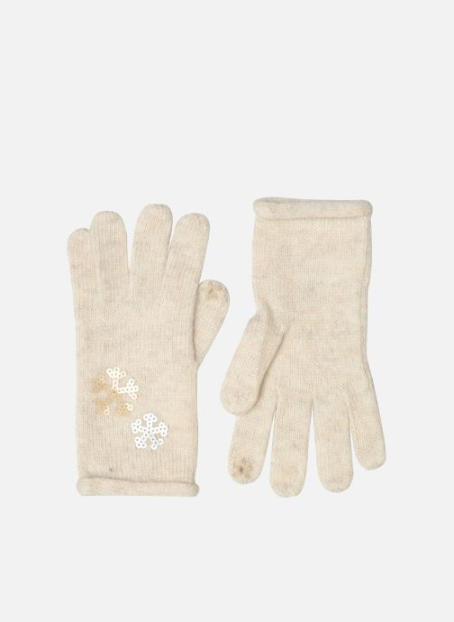 Handschoenen Esprit Gants sequins Beige detail