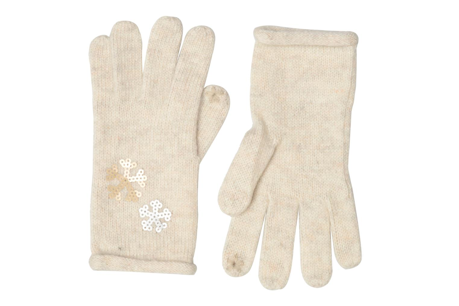 Miscellaneous Esprit Gants sequins White detailed view/ Pair view