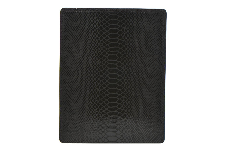 Petite Maroquinerie Petite mendigote Big Etoile Porte iPad Noir vue face