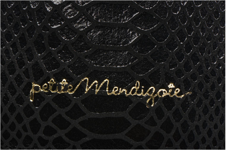 Petite Maroquinerie Petite mendigote Big Etoile Porte iPad Noir vue gauche