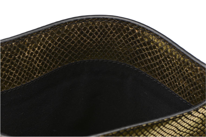 Kleine lederwaren Petite mendigote Big Etoile Porte iPad Goud en brons achterkant