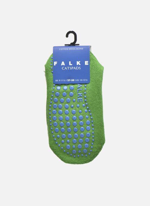 Chaussettes et collants Falke Chaussons-chaussettes Catspads Vert vue derrière