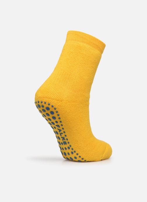 Chaussettes et collants Falke Chaussons-chaussettes Catspads Jaune vue portées chaussures