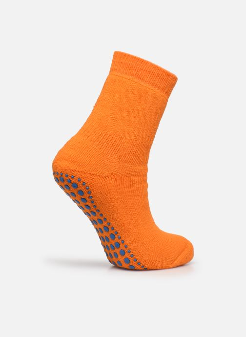 Calze e collant Falke Chaussons-chaussettes Catspads Arancione modello indossato