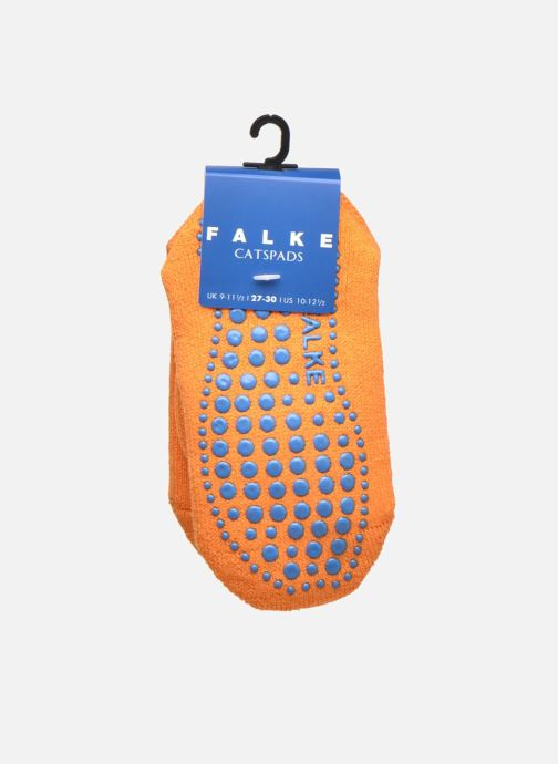 Sokken en panty's Falke Chaussons-chaussettes Catspads Oranje achterkant