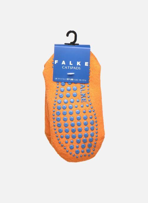 Chaussettes et collants Falke Chaussons-chaussettes Catspads Orange vue derrière