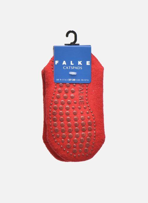 Chaussettes et collants Falke Chaussons-chaussettes Catspads Rouge vue derrière