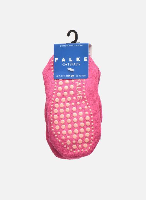 Chaussettes et collants Falke Chaussons-chaussettes Catspads Rose vue derrière
