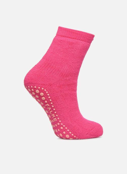 Sokken en panty's Falke Chaussons-chaussettes Catspads Roze detail