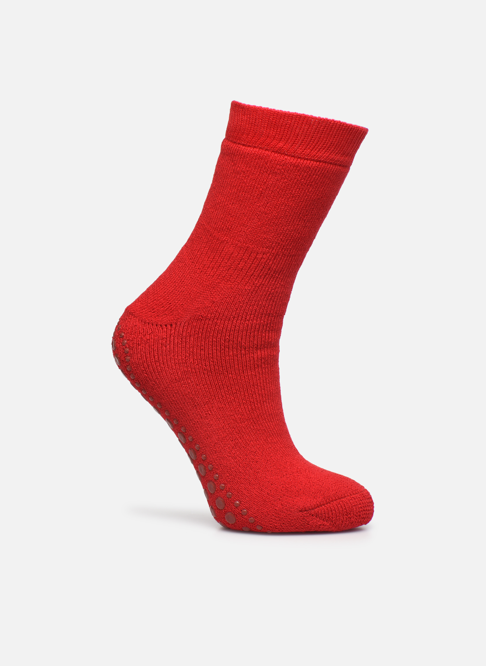 Socks & tights Falke Chaussons-chaussettes Catspads Red detailed view/ Pair view