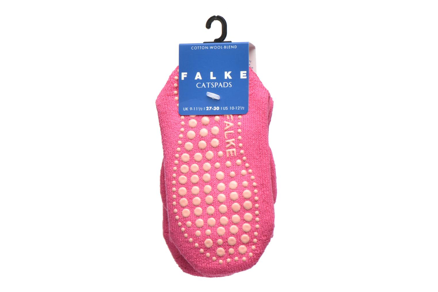 Socks & tights Falke Chaussons-chaussettes Catspads Pink back view