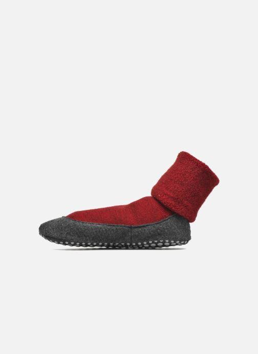 Chaussettes et collants Falke Chaussons-chaussettes Cosyshoes Rouge vue face