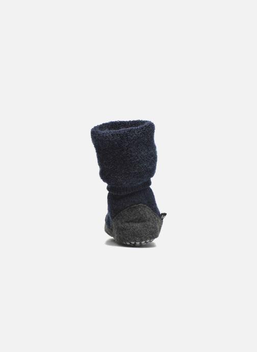 Chaussettes et collants Falke Chaussons-chaussettes Cosyshoes Bleu vue droite
