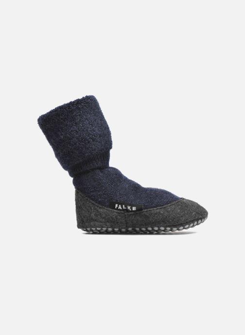 Chaussettes et collants Falke Chaussons-chaussettes Cosyshoes Bleu vue derrière
