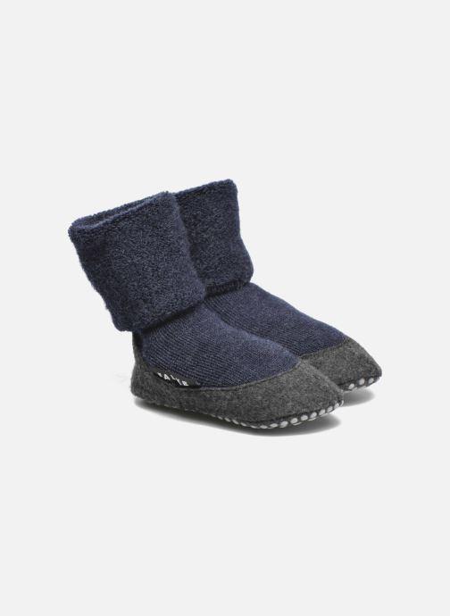 Chaussettes et collants Falke Chaussons-chaussettes Cosyshoes Bleu vue détail/paire