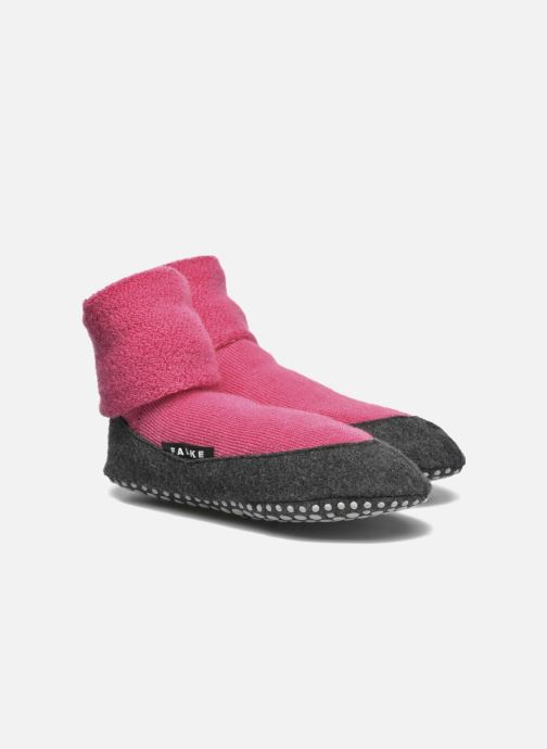 Socks & tights Falke Chaussons-chaussettes Cosyshoes Pink detailed view/ Pair view
