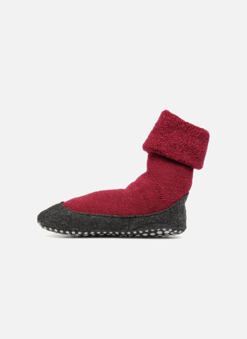 Socken & Strumpfhosen Falke Chaussons-chaussettes Cosyshoes rot ansicht von vorne