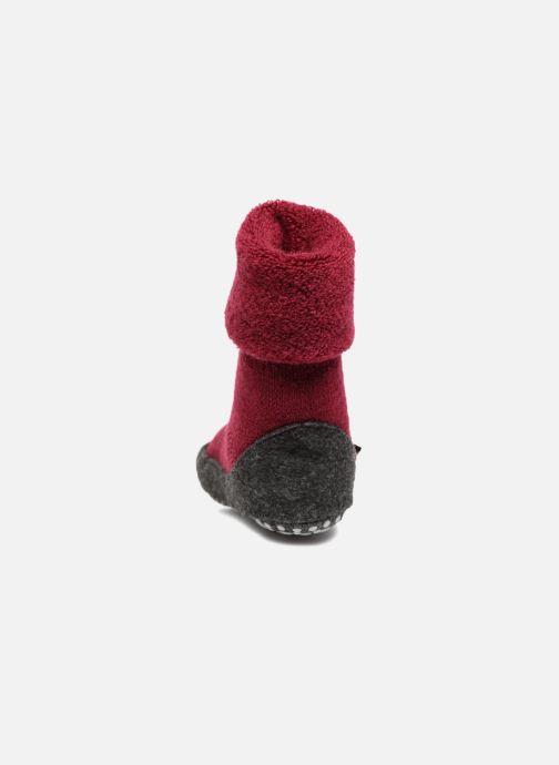 Chaussettes et collants Falke Chaussons-chaussettes Cosyshoes Rouge vue droite