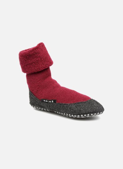 Sokken en panty's Falke Chaussons-chaussettes Cosyshoes Rood detail