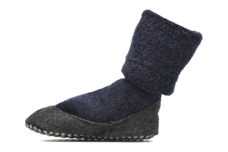 Strømper og tights Falke Chaussons-chaussettes Cosyshoes Blå se forfra