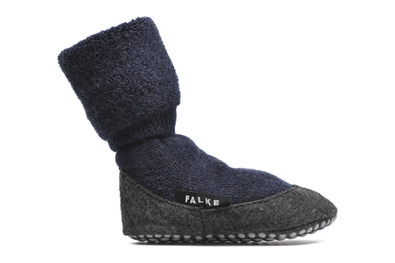 Strømper og tights Falke Chaussons-chaussettes Cosyshoes Blå se bagfra