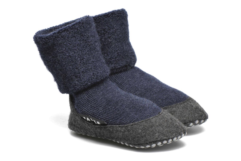 Strømper og tights Falke Chaussons-chaussettes Cosyshoes Blå detaljeret billede af skoene
