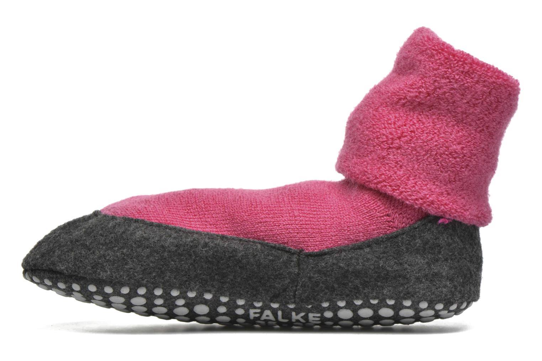 Medias y Calcetines Falke Chaussons-chaussettes Cosyshoes Rosa vista de frente