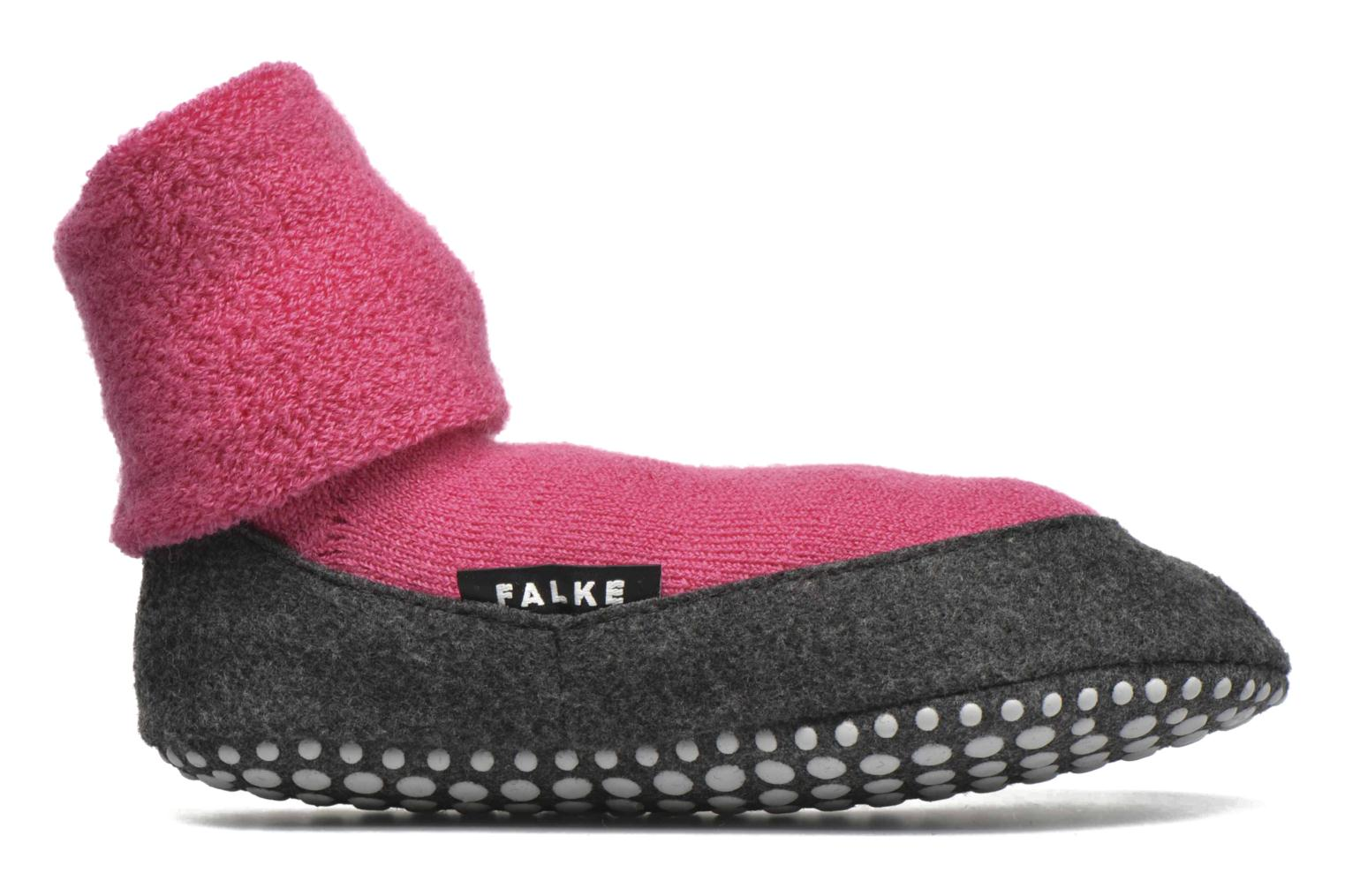 Medias y Calcetines Falke Chaussons-chaussettes Cosyshoes Rosa vistra trasera