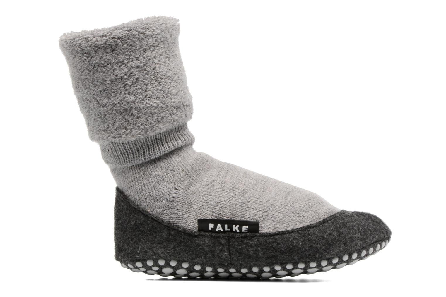 Socks & tights Falke Chaussons-chaussettes Cosyshoes Grey back view