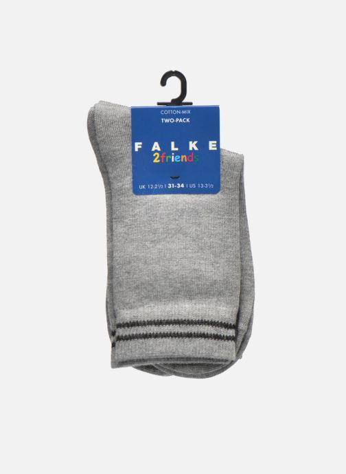Sokken en panty's Falke Chaussettes 2 Friends Grijs achterkant