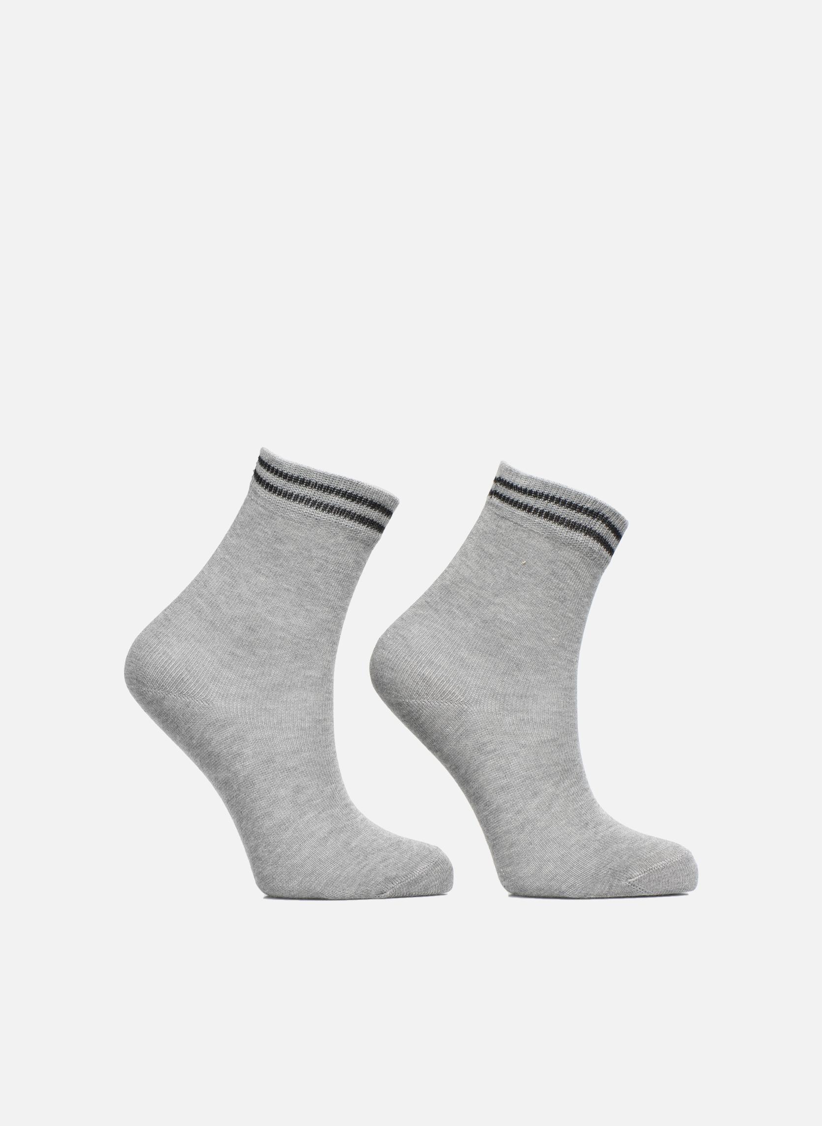 Sokken en panty's Falke Chaussettes 2 Friends Grijs detail