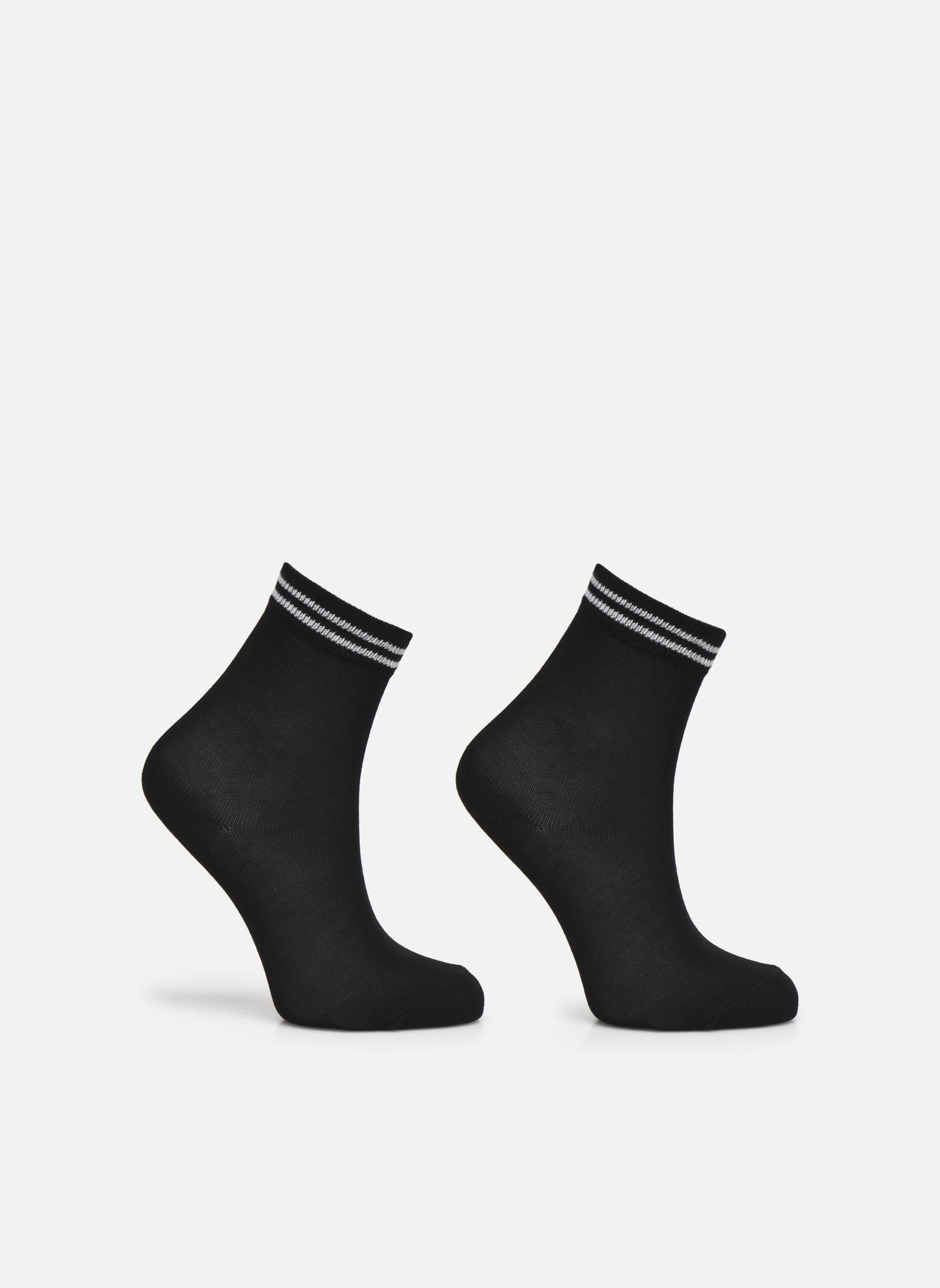 Socken & Strumpfhosen Falke Chaussettes 2 Friends schwarz detaillierte ansicht/modell