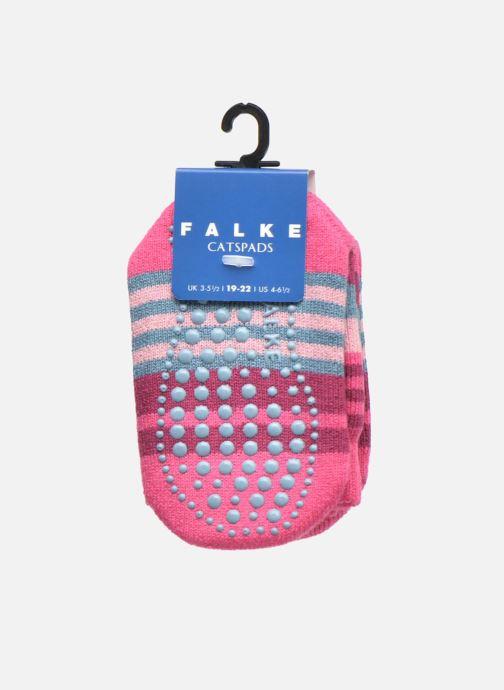 Sokken en panty's Falke Chaussons-chaussettes Irregular Stripe Catspads Multicolor achterkant