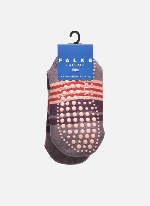 Socken & Strumpfhosen Falke Chaussons-chaussettes Irregular Stripe Catspads mehrfarbig ansicht von hinten