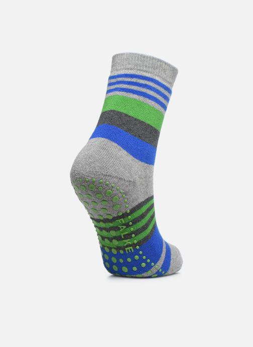 Chaussettes et collants Falke Chaussons-chaussettes Irregular Stripe Catspads Multicolore vue portées chaussures