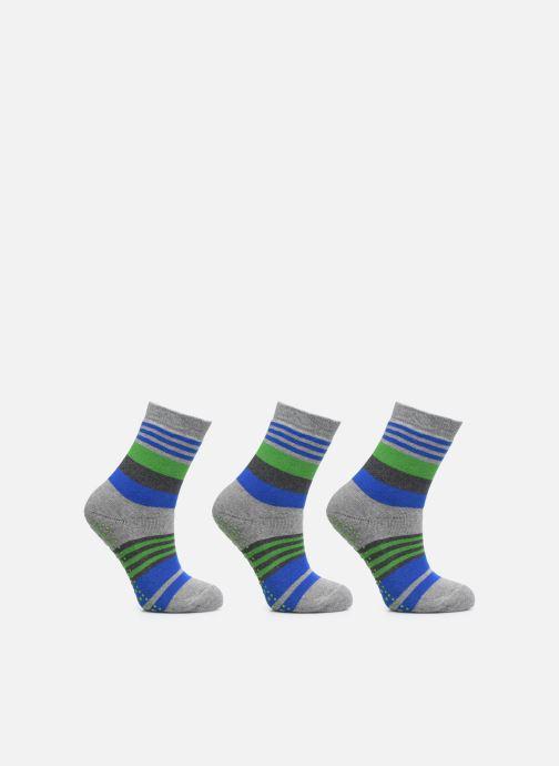 Sokken en panty's Falke Chaussons-chaussettes Irregular Stripe Catspads Multicolor detail