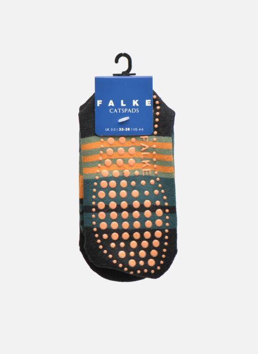 Chaussettes et collants Falke Chaussons-chaussettes Irregular Stripe Catspads Multicolore vue derrière