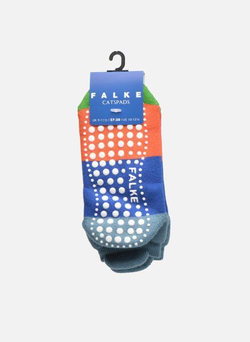 Chaussettes et collants Falke Chaussons-chaussettes Colour Block Catspads Multicolore vue derrière
