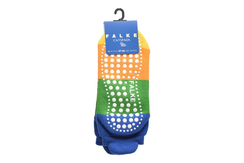 Strumpor och strumpbyxor Falke Chaussons-chaussettes Colour Block Catspads Multi bild från baksidan