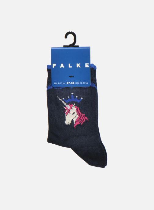 Chaussettes et collants Falke Chaussettes Unicorn Bleu vue derrière