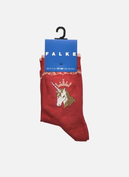 Chaussettes et collants Falke Chaussettes Unicorn Rouge vue derrière